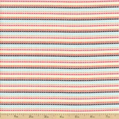 Hootenanny Stripe Organic Cotton Fabric