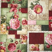 Hope's Promise Cotton Fabric - Collage Multi