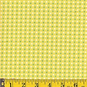 HopscotchCotton Fabric - Yellow - Clearance