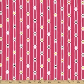 Hot Chocolate Cotton Fabric - Pink 4140104-1