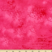 Hug Me Letters Cotton Fabric - Dark Pink Y1075-43