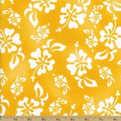 HuLaLa Hawaiian Cotton Fabric - Sunshine 691-854-B