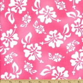 HuLaLa Hawaiian Cotton Fabric - Watermelon 691-852-B