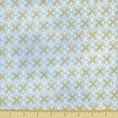 Hydrangea Radiance Cotton Fabric - Floral Texture - Periwinkle