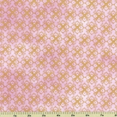 Hydrangea Radiance Cotton Fabric - Pink Q1432-23659-335