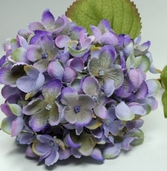 Hydrangea Sprays 17 in Purple/Blue/Green