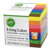 Icing Color Wilton - 8 piece