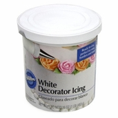 Icing Decorator White -16 oz.