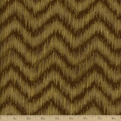 Imperial Collection 10 Chevron Cotton Fabric - Taupe