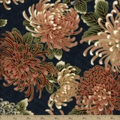 Imperial Collection 9 Cotton Fabric - Navy SRKM-13753-9