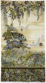 Imperial Collection 9 Cotton Fabric Panel - Linen ARKM-13748-156