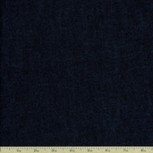 Indigo Denim 4.5 oz. Cotton Fabric - Fineline Wash