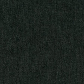 Indigo Denim Cotton Fabric 6.5 oz. - Black Washed