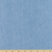 Indigo Denim Cotton Fabric 6.5 oz. - Bleach Indigo Wash