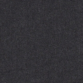 Indigo Denim Cotton Fabric 8 oz. - Black Washed