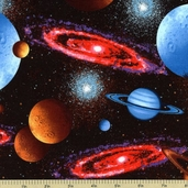 Inter Cosmic Cotton Fabric H8745-130