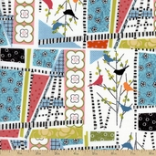 Interplay Patchwork Cotton Fabric