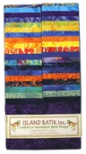 Island Batik Strip Pack - Confetti