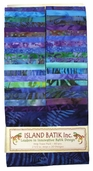 Island Batik Strip Pack - Laguna