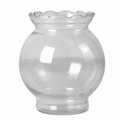 Ivy Bowls Package of 12 - Clear Glass - Clearance