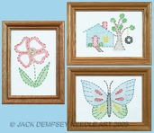Jack Dempsey Beginner Embroidery Kit - Outside Fun