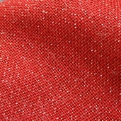 James Thompson Sparkle Burlap Fabric - 60 Inch - Red