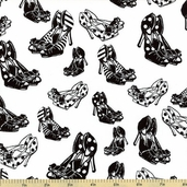 Jessie Steele Shoes Cotton Fabric C9875