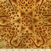 Jewels of India Cotton Fabric - Amber APTM-10875-142