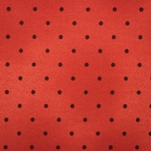 Joy, Love, Peace, Noel Cotton Fabric - Red Polka Dot
