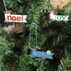 Joyful Spool Ornament