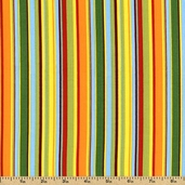 Jungle Club Cotton Fabric - Multi-Color 02255-99