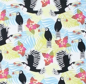 Jungle Fever: Lonely Toucan from Free Spirit - ivory