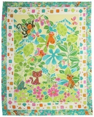 Jungle Play Panel Cotton Fabric - Multi 100-180 - Clearance