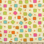 Jungle Play Panel Cotton Fabric - Multi 100-184 - Clearance