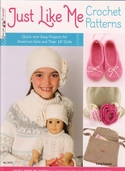 Just Like Me Crochet Patterns by Cony Larsen