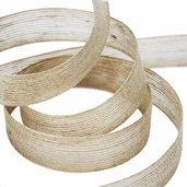 Jute Ribbon 1in. - Tan - 16 1/2yds