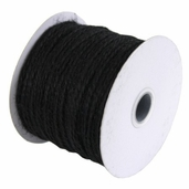 Jute Rope 1/8 in. 100 yd Spool  Black