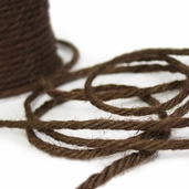 Jute Twine Cording 3.5mm x 25yds - Dark Brown