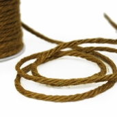 Jute Twine Cording 3.5mm x 25yds - Lt. Brown