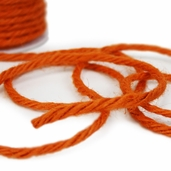 Jute Twine Cording 3.5mm x 25yds - Orange