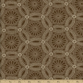 Kasuri Cotton Fabric - Cocoa 32682-19