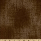 Kasuri Cotton Fabric - Cocoa 32686-13