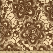 Kasuri Cotton Fabric - Natural 32681-23