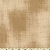 Kasuri Woven Texture Cotton Fabric - Natural - CLEARANCE