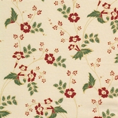 Katherine Cotton Fabric - Cream