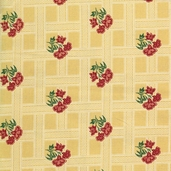 Katherine Cotton Fabric - Gold