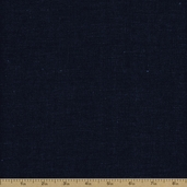 Kaufman Cotton Linen Denim Fabric - 6 Oz. - Denim
