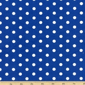 Kaufman Fabrics - Pimatex Basics Cotton Fabric - Cobalt BT-2582-72