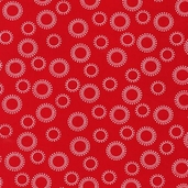 Kaufman Fabrics - Pimatex Basics Cotton Fabric Collection - Red