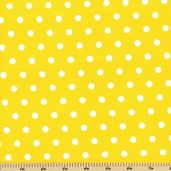 Kaufman Fabrics - Pimatex Basics Cotton Fabric - Yellow - BT-2582-5